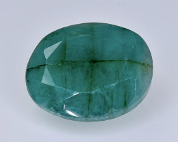 6.43 Crt  emerald  Natural  Faceted Gemstone.( AB 45)