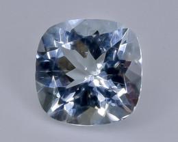 1.32  Crt  aquamarine  Natural  Faceted Gemstone.( AB 45)