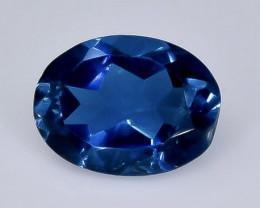 1.25 Crt  topaz  Natural  Faceted Gemstone.( AB 45)