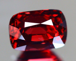 Red Spinel 1.87Ct VS Cushion Cut Natural Burmese Red Spinel A1405