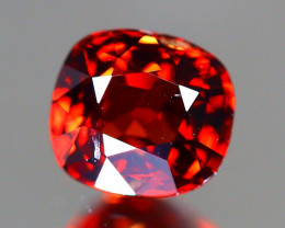 Red Spinel 0.97Ct Cushion Cut Natural Burmese Red Spinel A1418