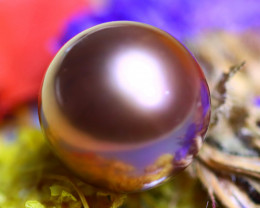 11.90MM 12.30Ct Natural Tahitian Cherry Color Pearl D1820/A244
