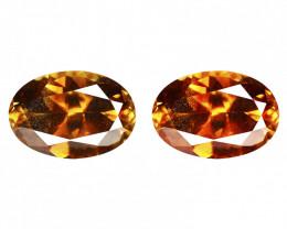 1.38 Cts Very Rare Greenish Brown  Color Natural Chrysoberyl Gemstone