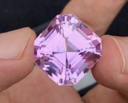 37.10 Carat One Of best Fancy Ashar Cut Kunzite Gemstone