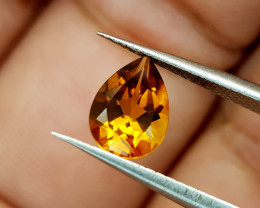 0.92Crt Madeira Citrine Natural Gemstones JI93