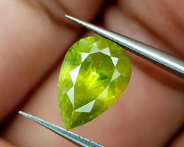 2.65Crt Green Sphene Color Change Natural Gemstones JI93