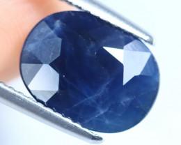 4.96cts Natural Dark Blue Sapphire /CMA2808
