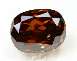 Cognac Diamond 0.26Ct Natural Untreated Genuine Diamond B1545