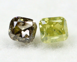 Yellow Diamond 0.20Ct Natural Untreated Genuine Yellow Diamond C1545