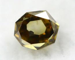 Yellowish Brown Diamond 0.21Ct Natural Untreated Diamond A1540
