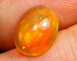 Welo Opal 1.55Ct Natural Ethiopian Cabochon Play of Color Opal E1925/A3