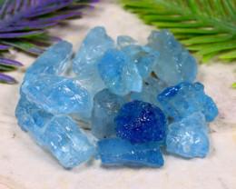 Aquamarine 99.34Ct Natural Santa Maria Aquamarine Rough B1526