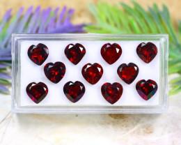 Spessartite 14.25Ct VVS Heart Cut Natural Spessartite Garnet Lot C1526