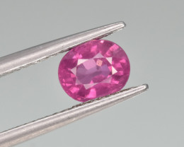 Natural Rhodolite Garnet 1.37  Cts Good Quality Gemstone
