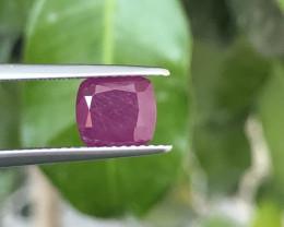~NR~Certified 2.57 Carats Natural Sapphire Corundum Nice Cut Gemstone