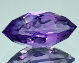3.16 Cts Natural Purple Amethyst Marquise Custom Cut