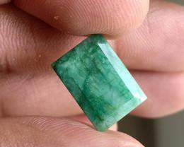 Natural Emerald Gemstone 100% Natural Treated VA2726