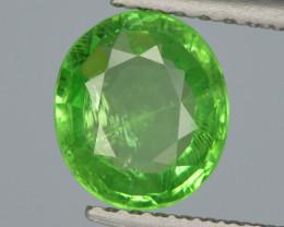 Tsavorite Garnet 1.02 Cts Unheated Vivid Green Natural Gemstone