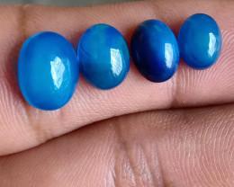 5 Cts Ethiopian Opal Blue Cabochon Natural Fire Opal Treated VA2733