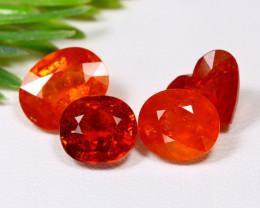 Mandarin 13.80Ct Natural Orange Mandarin Spessartite Garnet Lot A1605