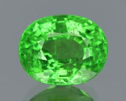 Tsavorite Garnet 1.09 Cts Unheated Vivid Green Natural Gemstone