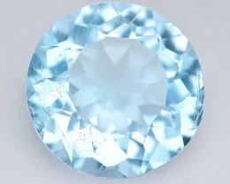 Blue Topaz 4.95 Cts Fancy Blue Color Natural Gemstone