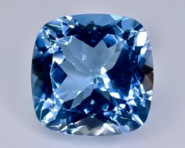 12.52 Crt  topaz  Natural  Faceted Gemstone.( AB 46)