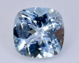 1.27 Crt aquamarine  Natural  Faceted Gemstone.( AB 46)