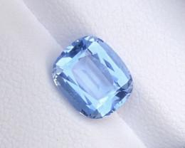 2.75Ct Santa Maria Color Cushion Cut Natural Aquamarine