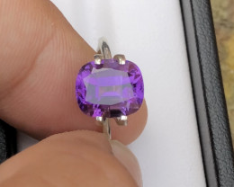 Top Grade 4.15 ct lovely Amethyst Ring Size~MR