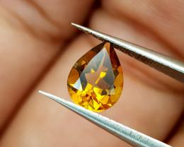 1Crt Madeira Citrine Natural Gemstones JI94