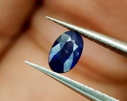 0.33Crt Blue Sapphire Heat be Natural Gemstones JI94