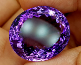 61.85Crt Natural Amethyst Natural Gemstones JI94