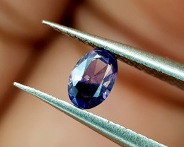 0.23Crt Kashmir Sapphire Unheated Natural Gemstones JI94