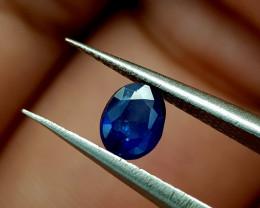 0.42Crt Blue Sapphire Heat be Natural Gemstones JI94