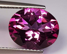 5.68 Ct Top Quality Oval Cut Natural Pink Topaz