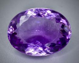49.12 Crt  amethyst  Faceted Gemstone (Rk-42