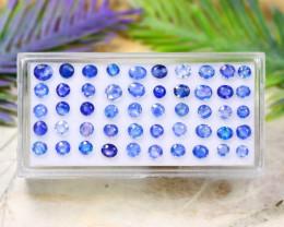 Ceylon Blue 5.29Ct Natural Ceylon Cornflower Blue Sapphire Lot A1725