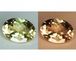 0.75 Cts Rare Color Changing Diaspore Natural Gemstone