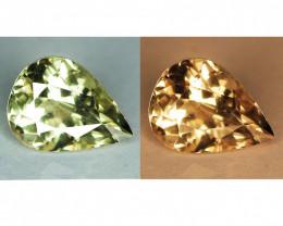 0.96 Cts Rare Color Changing Diaspore Natural Gemstone