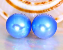Akoya Pearl 7.8mm 6.91Ct Natural Akoya Blue Pearl A1826