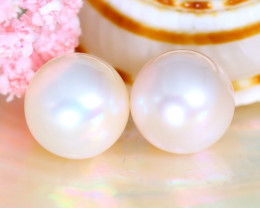 Akoya Pearl 8.1mm 7.73Ct Natural Akoya White Pearl A1833