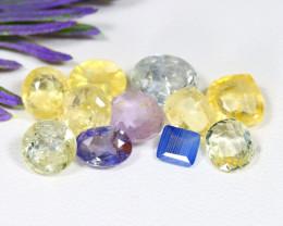 Sapphire 14.13Ct Natural Madagascar Fancy Color Sapphire Lot A1834