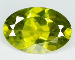 3.20 Cts Parrot Green Color Natural Peridot Gemstone