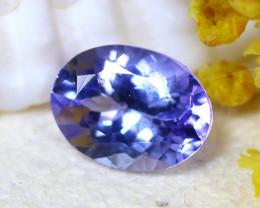 Tanzanite 1.23Ct Natural VVS Purplish Blue Tanzanite E2114/A45