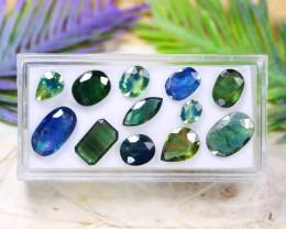 Teal Sapphire 14.57Ct Natural Australian Teal Sapphire Lot C1804
