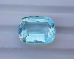 Natural Blue Aquamarine Loose Gemstone