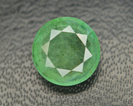 Emerald Superb Color 3.50 Ct Natural From Zambia