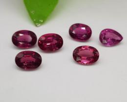 Natural Rhodolite Garnet 6.50 Carats Gemstones