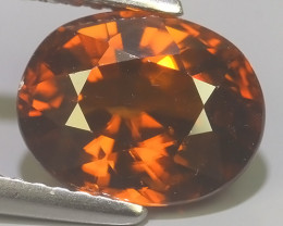 4.00 CTS~TOP LUSTROUS NATURAL ZIRCON CAMBODIA UNHEATED